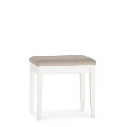 Ashby White Painted Stool
